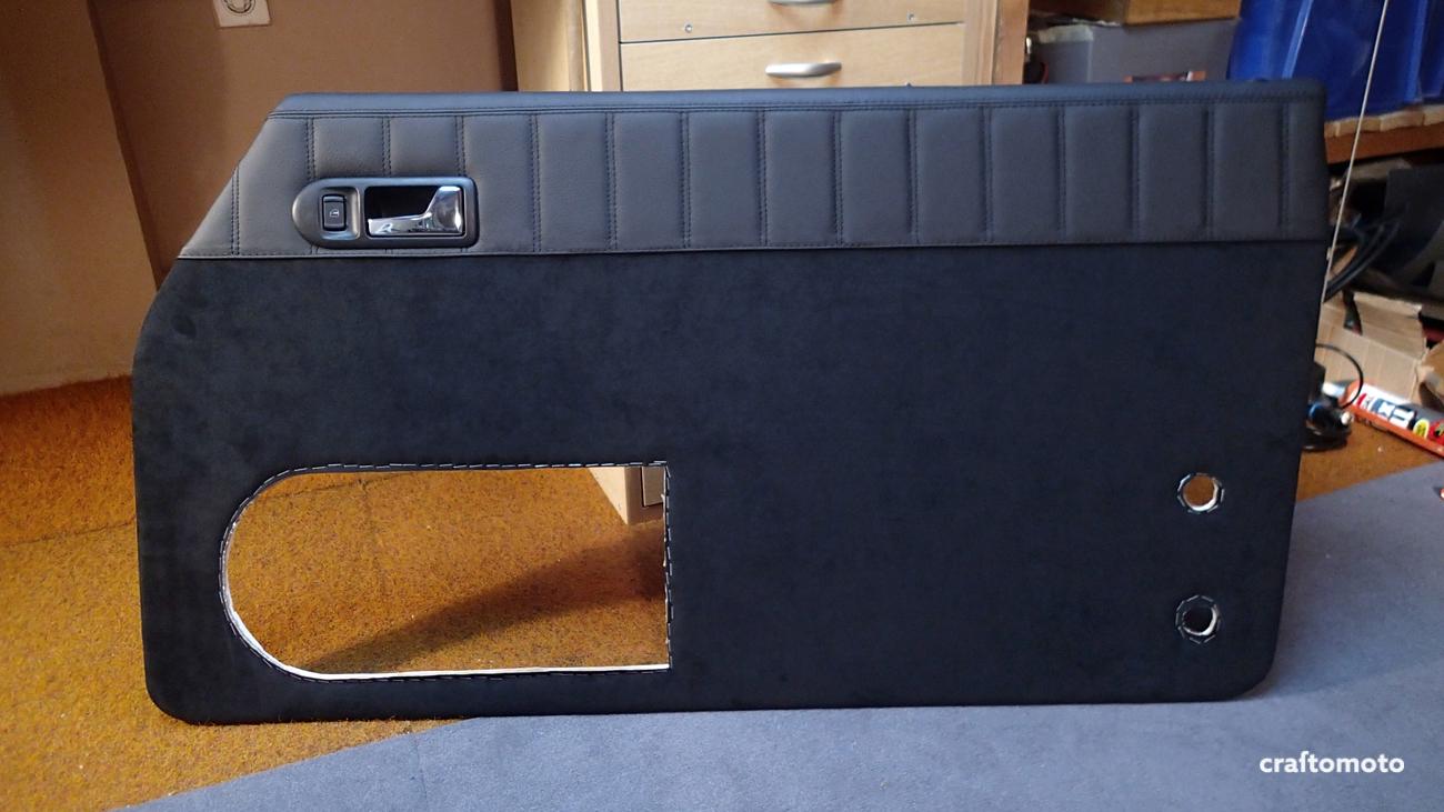 Door Panel Material : Capri custom door panels