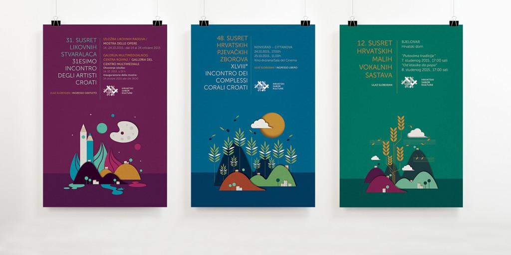 Hrvatski sabor kulture - poster
