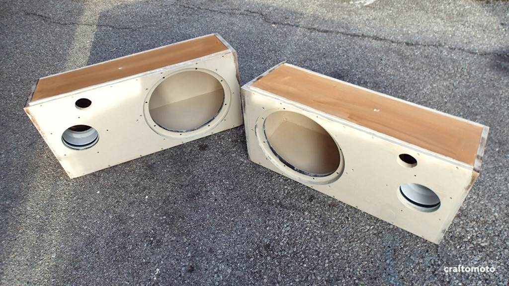 Ford Capri subwoofer enclosures