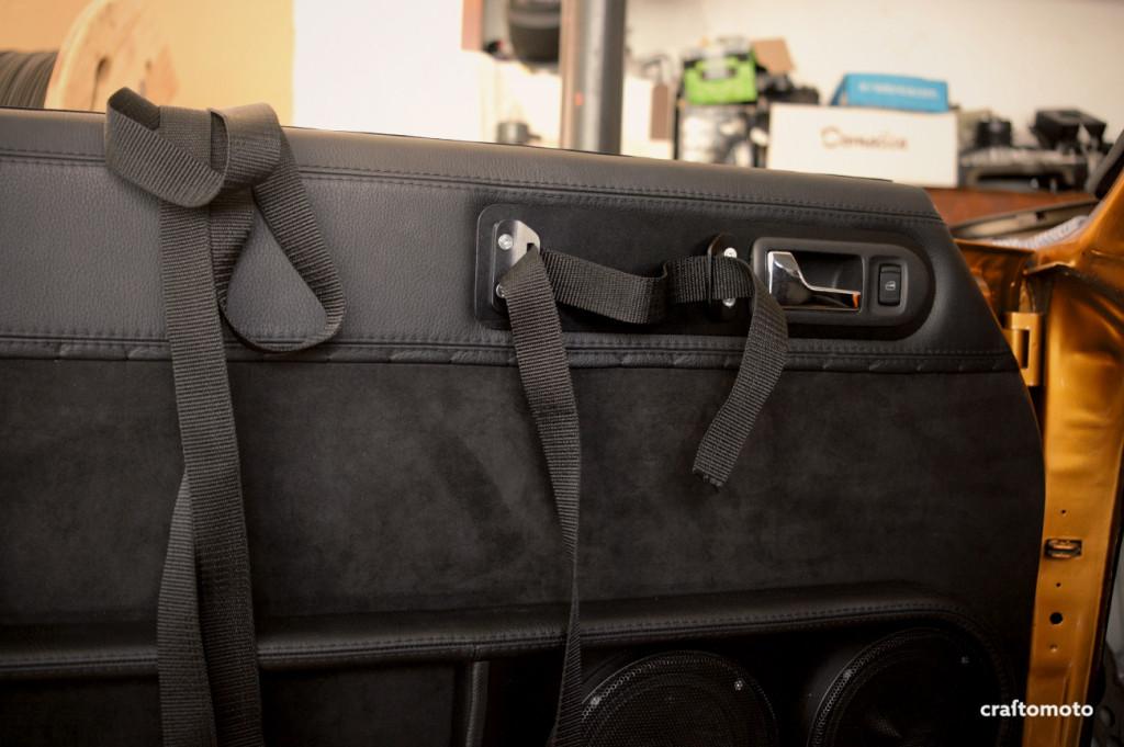 Ford Capri custom pull handles