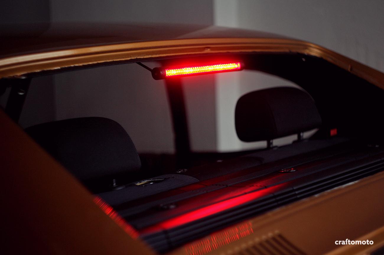Custom third brake light